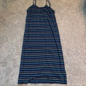 Large Sundress With Adjustable Straps